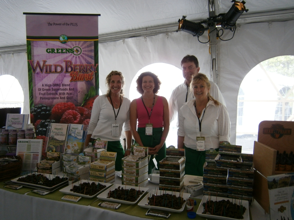 North Atlantic Whole Foods All Access Show Greens+  100% Organic Bars and Powder ....The Best Greens on Earth!